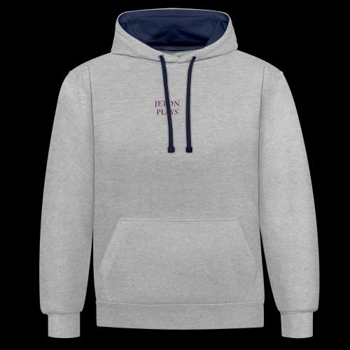 JetonPlays - Contrast hoodie