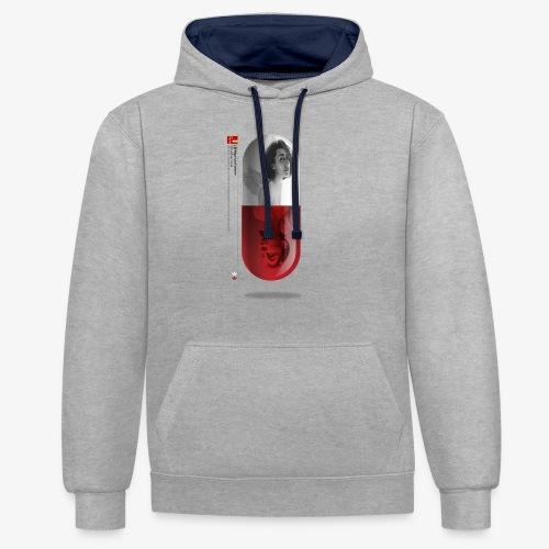 capsula - Sudadera con capucha en contraste