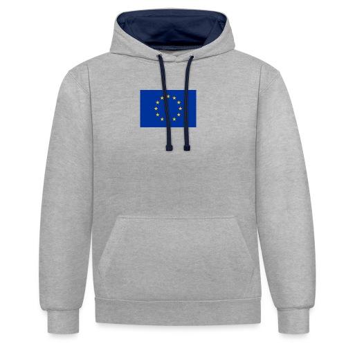 EU - Contrast Colour Hoodie