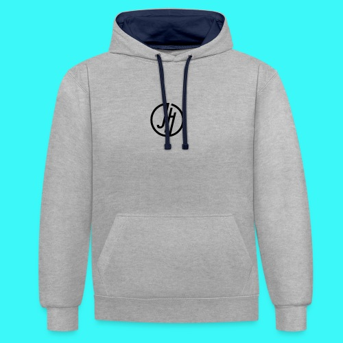 JH Logo - Contrast Colour Hoodie