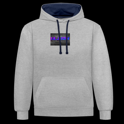 Lil Justin - Contrast Colour Hoodie