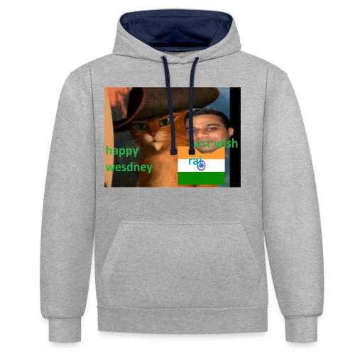 wesdney shirt official - Kontrastluvtröja