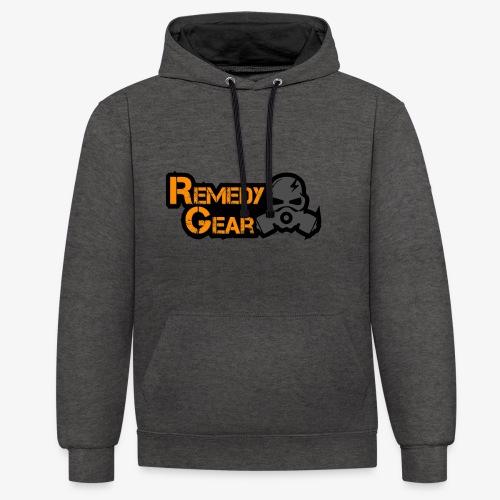 Remedy Gear Logo Wear - Contrast Colour Hoodie