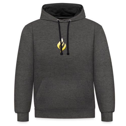 LUX Default Logo - Contrast Colour Hoodie