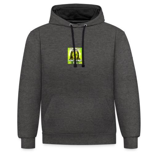 jesusmemesinterneteaste - Contrast hoodie