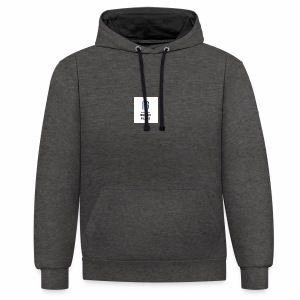 Bexon plays logo merch - Contrast Colour Hoodie