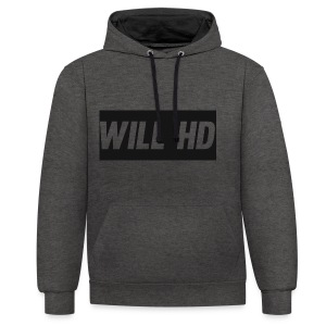 Will HD merch - Contrast Colour Hoodie