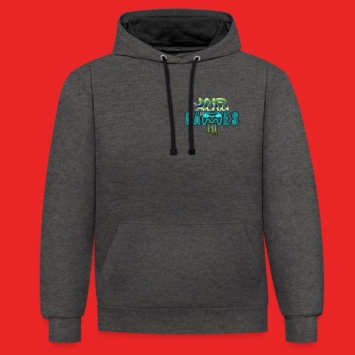 LIMITED EDITION 100 subs special hoodie! - Contrast hoodie