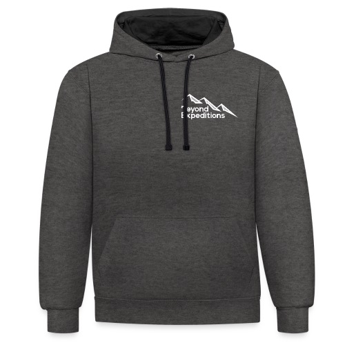 Beyond Expeditions White Logo - Sweat-shirt contraste