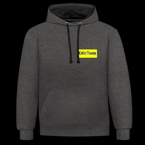 DilsTees - Contrast Colour Hoodie