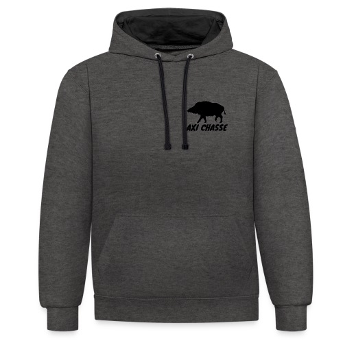 AXI Chasse - Sweat-shirt contraste