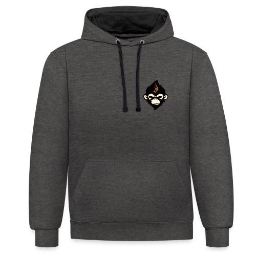 MonkieGames - Contrast hoodie