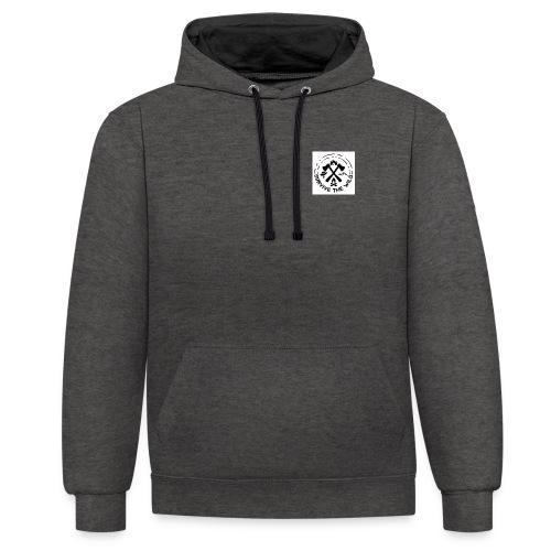 Survive The Wild Logo - Contrast Colour Hoodie