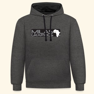 Milas Graphics Africa - Sweat-shirt contraste