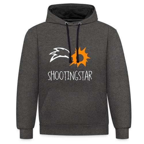 Shootingstar - Kontrast-Hoodie