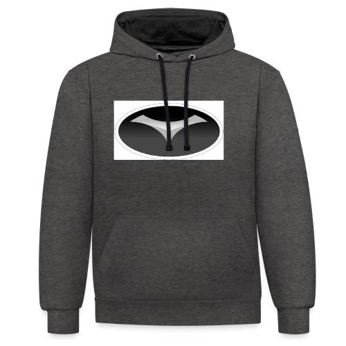 jdg - Contrast hoodie