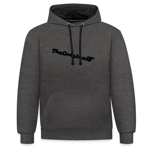TheOriginalF - Kontrast-Hoodie