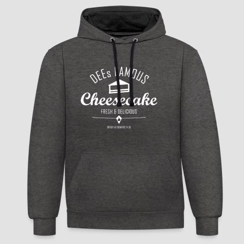 DEEs Famous Cheescake - Kontrast-Hoodie