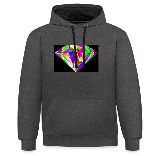 A try - Contrast Colour Hoodie