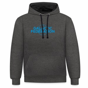 Galactic Federation - Contrast Colour Hoodie