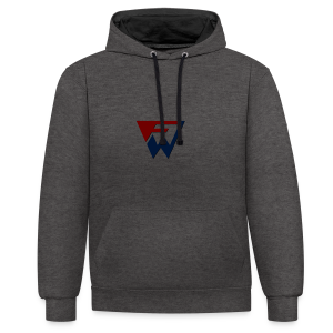 FW Logo - Contrast Colour Hoodie