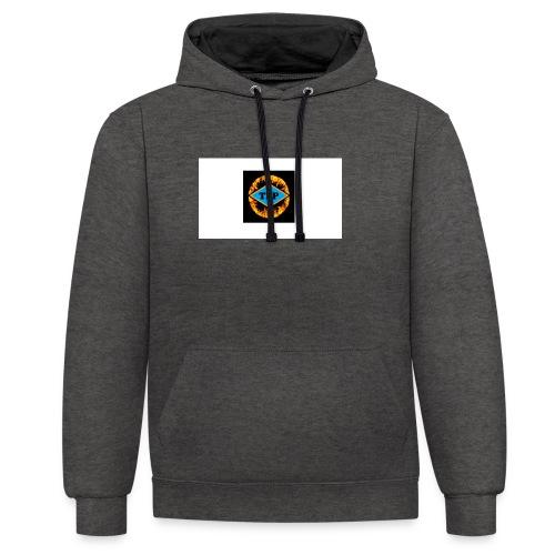 Mangler du et logo? - Kontrast-hættetrøje