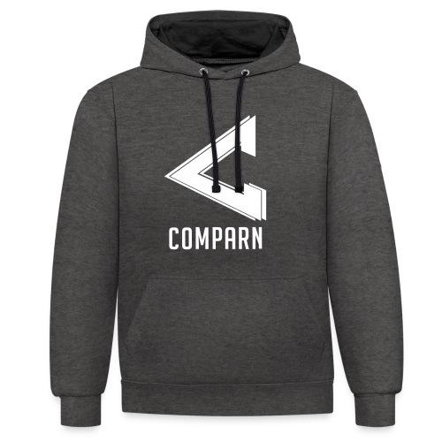 Youtube c0mparn's Logotype - Kontrastluvtröja