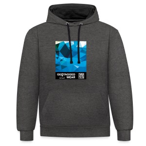 Camouflage Marine – Muskoka Collection 1708 - Kontrast-Hoodie