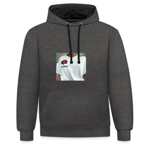 Feminist T-Shirt - Kontrast-Hoodie