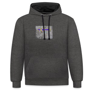 The Beginning - Contrast Colour Hoodie