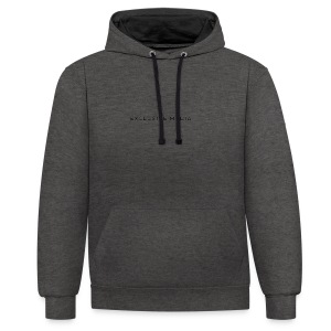 Back to basic's - Contrast Colour Hoodie