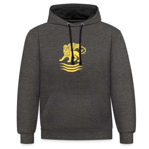 Trident Lion - Contrast hoodie