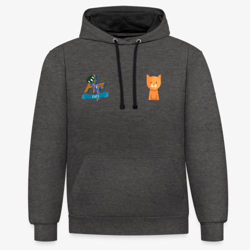 Catz - Sweat-shirt contraste