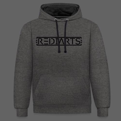 REDIARTS BASIC - Kontrast-Hoodie