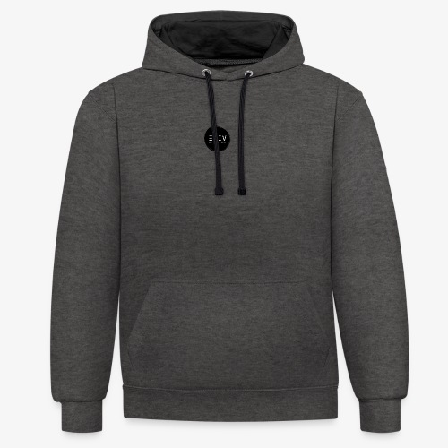 EYIV -BC. Motivation, Inspiration and Exploration! - Contrast Colour Hoodie