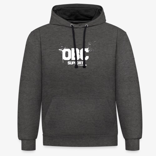 OBCSPP Weiss - Kontrast-Hoodie
