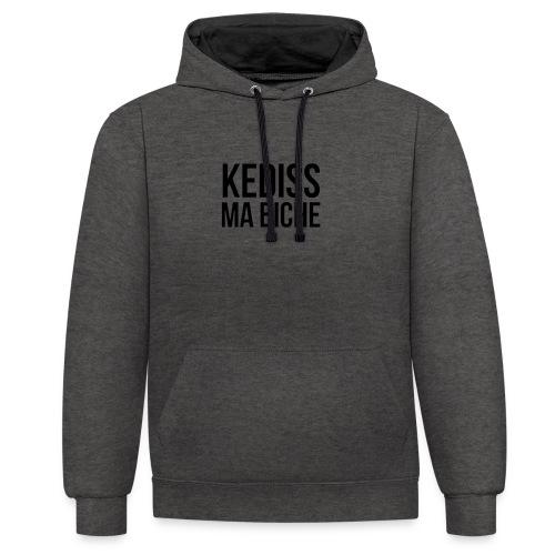 KEDISS MA BICHE - Sweat-shirt contraste