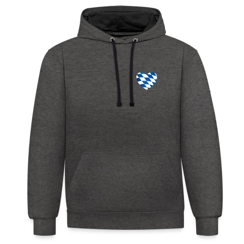 Bavarian Connection - Kontrast-Hoodie