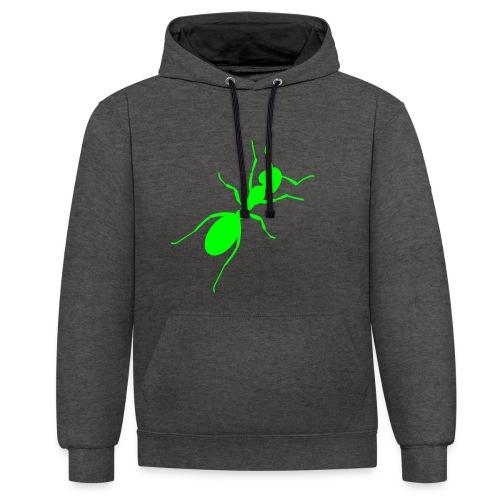 Ant / Unisex - Kontrast-Hoodie