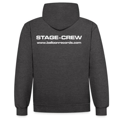 Stage-Crew - Kontrast-Hoodie