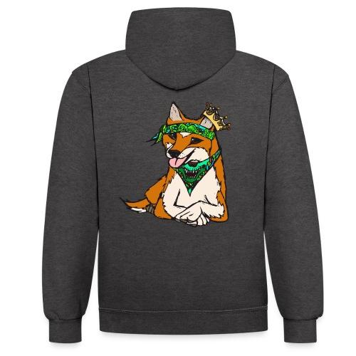 Streetclassix Tshirt Premium - Kontrast-Hoodie