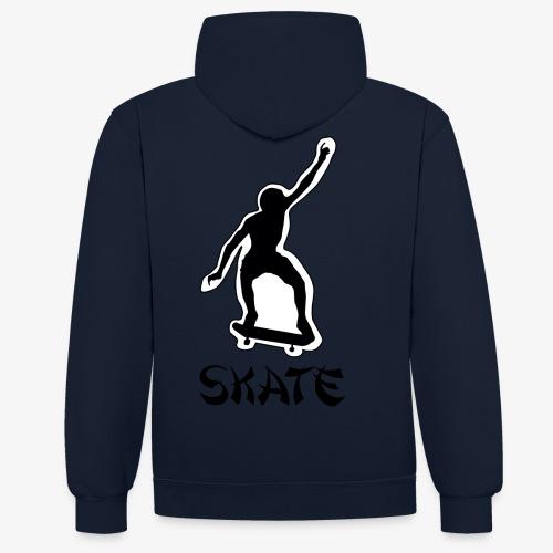 skate - Contrast hoodie