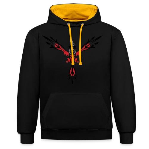 phoenix hoodie - Kontrastluvtröja