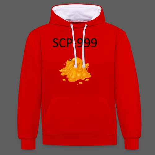 scp-999 - Sweat-shirt contraste