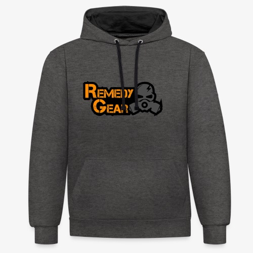 Remedy Gear Logo Wear - Contrast Colour Hoodie