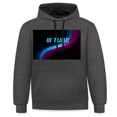 logo - Contrast hoodie