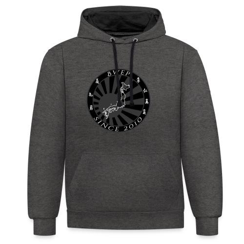 BWEP Imperial Noir/Blanc - Sweat-shirt contraste
