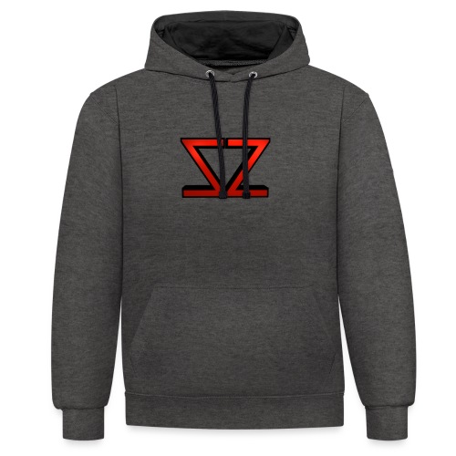 ZZ Logo - Kontrast-Hoodie