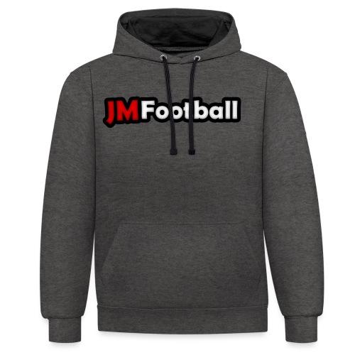 JMFootball Classic Hoodie - Contrast Colour Hoodie