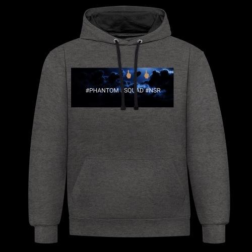 #PHANTOM #SQUAD #NSR Shirt - Kontrast-Hoodie